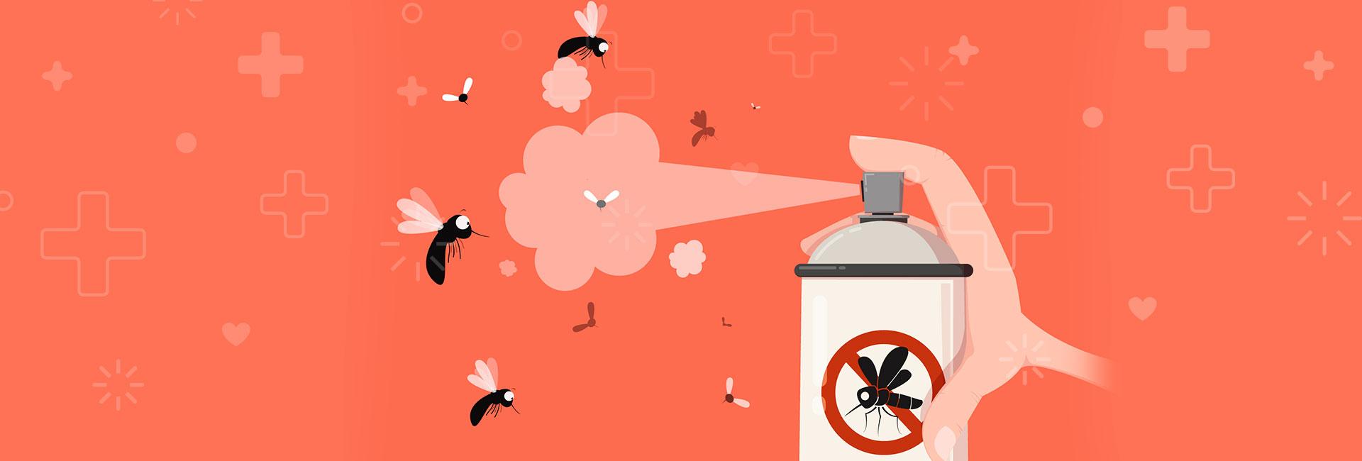 repelente, una medida de precaución contra el dengue